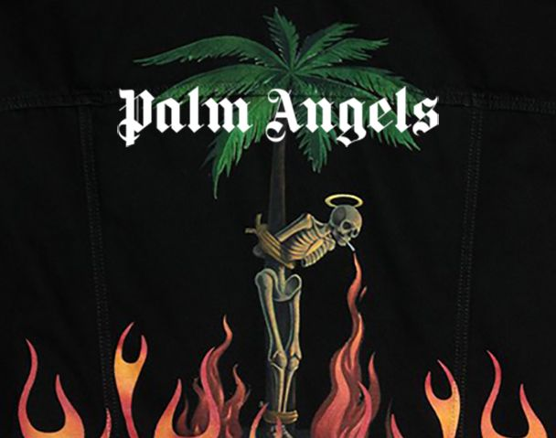 "PALM ANGELS / 新作アイテム入荷 ""BURNING DENIM JACKET(BLACK WASH)""and moreの写真"