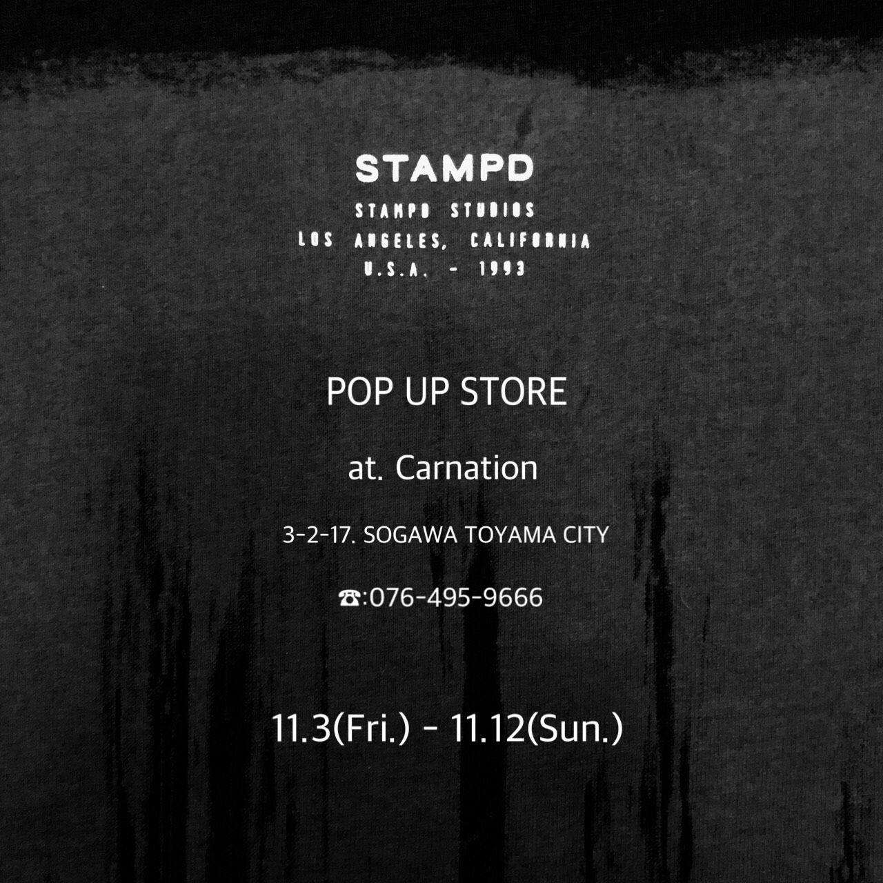 STAMPD POP UP STOREの写真