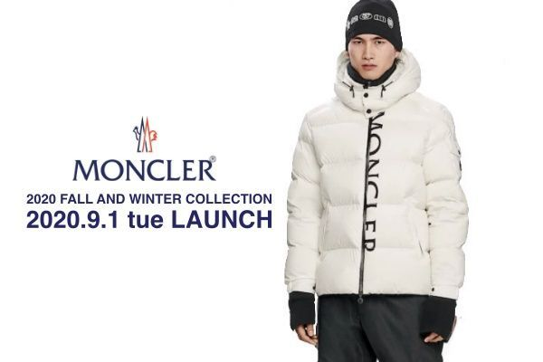 MONCLER 2020 FALL AND WINTER COLLECTIONの写真