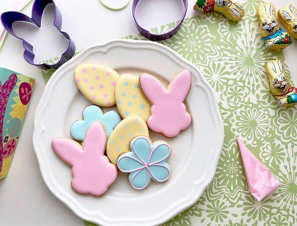 「イースターのパステルクッキー♪」の写真