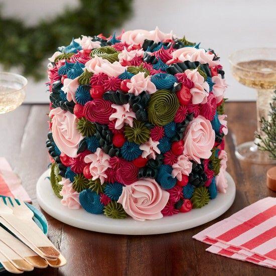 「エレガントなクリスマスケーキを作ってみましょう★」の写真