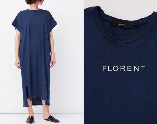 "FLORENT / 新作アイテム入荷 "" SINGLE JERSEY DRESS""の写真"
