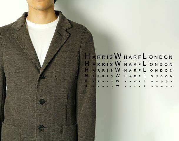 "Harris Wharf London  / 新作アイテム入荷 ""Men mac coat with Polaire Pressed Wool""andmoreの写真"