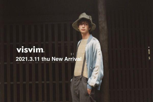 visvim 2021.3.11 thu New Arrivalの写真