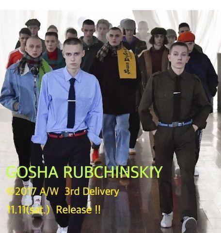 GOSHA RUBCHINSKIY 2017AW 3rd Deliveryの写真