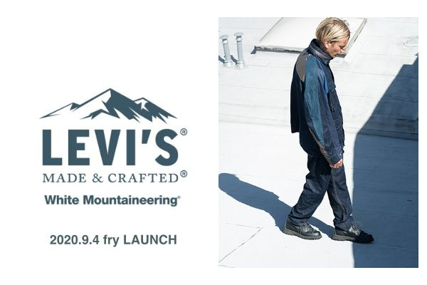 White Mountaineering x LEVI'S® MADE & CRAFTED® の写真