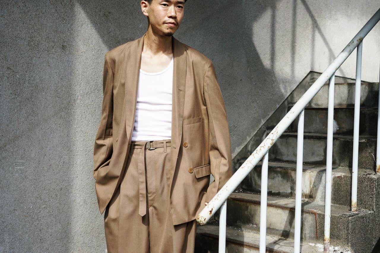 LEMAIREのジャケットとパンツ。  の写真