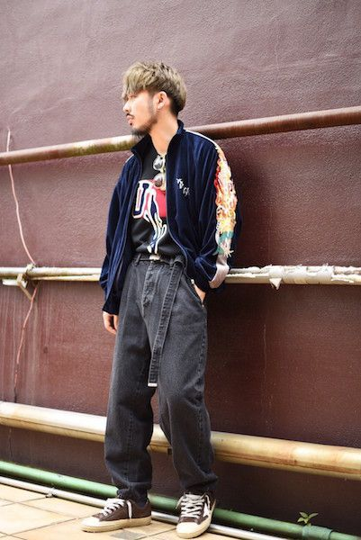 【 doublet 】/ CHAOS EMBROIDERY TRACK JACKET : Stylingの写真