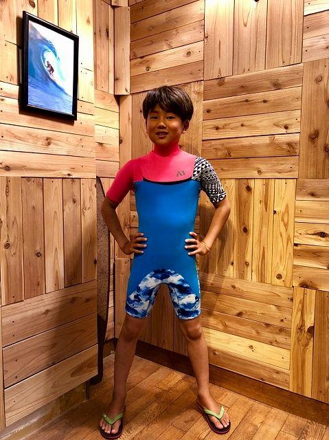 サーフィンウエットスーツスプリングオーダー子供エアータイト
