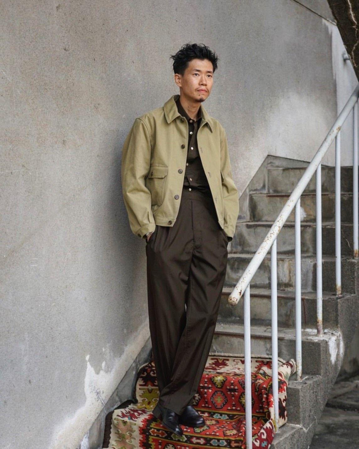 PHIGVELのボンディングジャケット。の写真