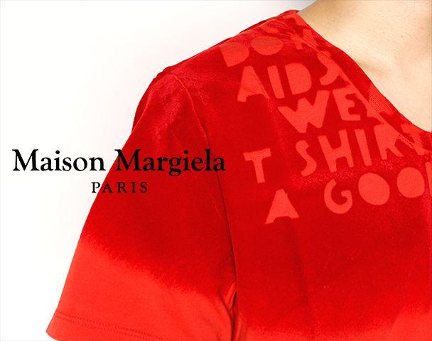 "Maison Margiela / 新作アイテム入荷 ""AIDS TEE""の写真"