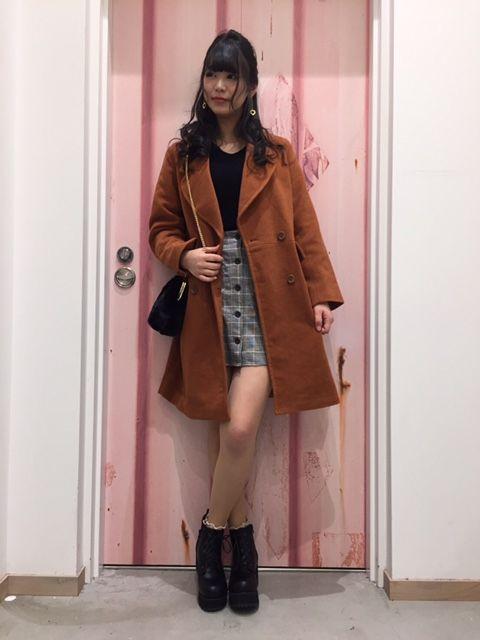 WEGO イオンモール広島府中店△森脇×チェスターコート△