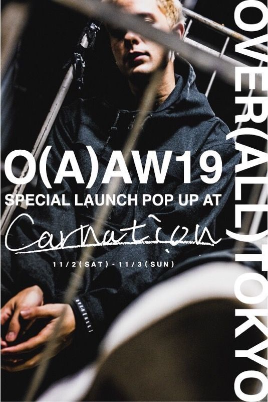 OVER(ALL)TOKYO - SPECIAL LAUNCH POP UP EVENTの写真