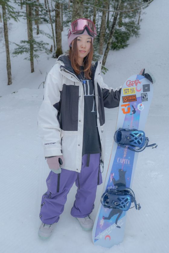 MIYON/スノーボード・ウェアスタイリング