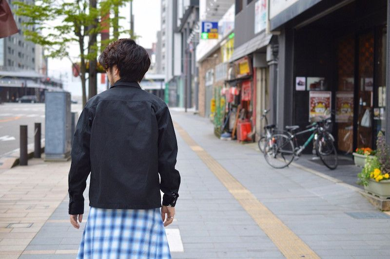 【 The Letters 】/ Military Ventile Jacket Ⅱの写真
