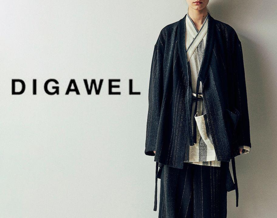 DIGAWEL / 2017AW / 新作アイテム入荷の写真
