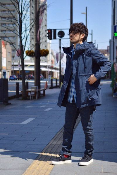 3 way spring coat 【 TATRAS 】Ⅱ : Stylingの写真
