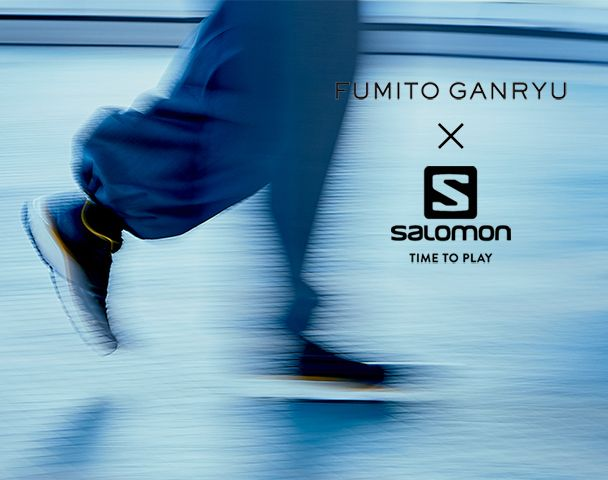 "FUMITO GANRYU  × Salomon コラボレーションアイテム入荷 ""Trekking shoes - collaborated with Salomon""and moreの写真"