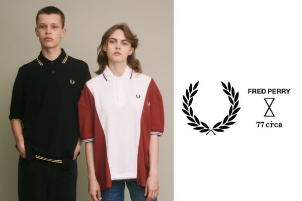 FRED PERRY × 77CIRCAの写真