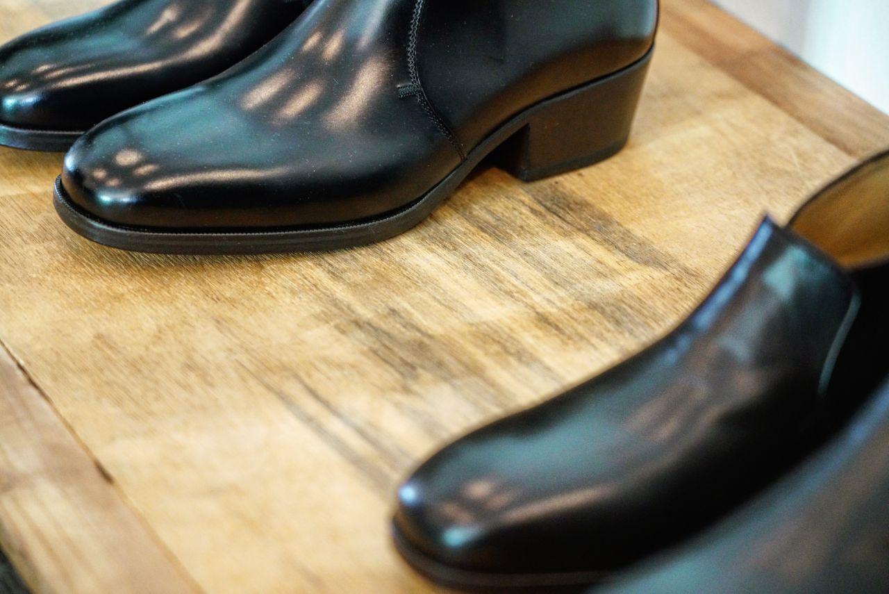LEMAIRE のブーツ。の写真