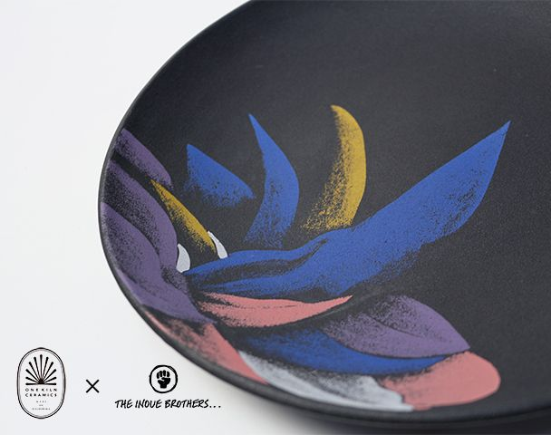 """THE INOUE BROTHERS × ONE KILN CERAMICS コラボレーションアイテム入荷 """"DINNER PLATE""""and moreの写真"""