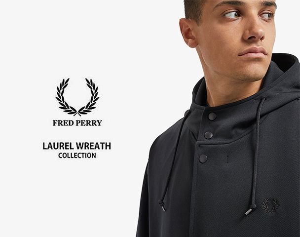"""FRED PERRY LAUREL WREATH COLLECTION / 新作アイテム入荷 """"LAUREL WREATH MADE IN JAPAN PARKA""""and moreの写真"""