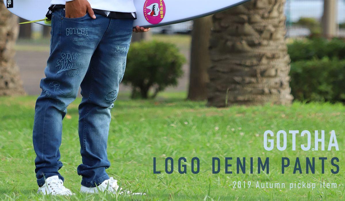 GOTCHA Logo denim
