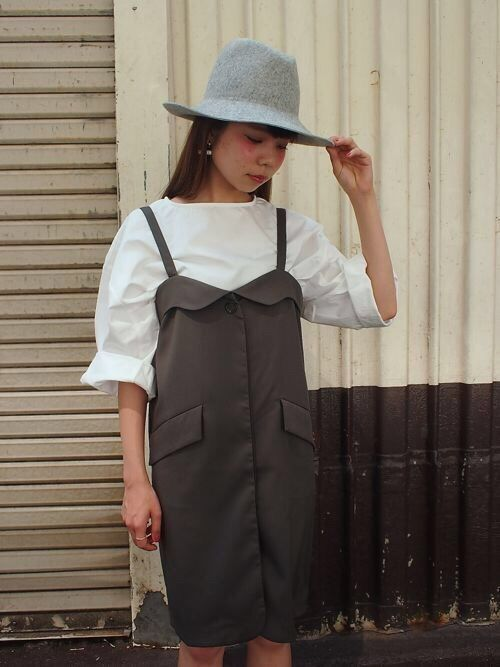 tops/SOLOV¥12.420- one-piece/SOLOV ¥17.820- hat/HAT&DREAMS ¥7.452-