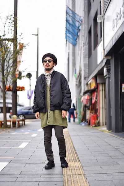 【 LAD MUSICIAN 】/ POLYESTER DOUBLE CLOTH MA-1 styleの写真