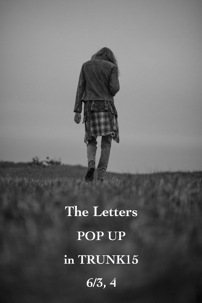The Letters POP UP in TRUNK15 (6/3,4)の写真