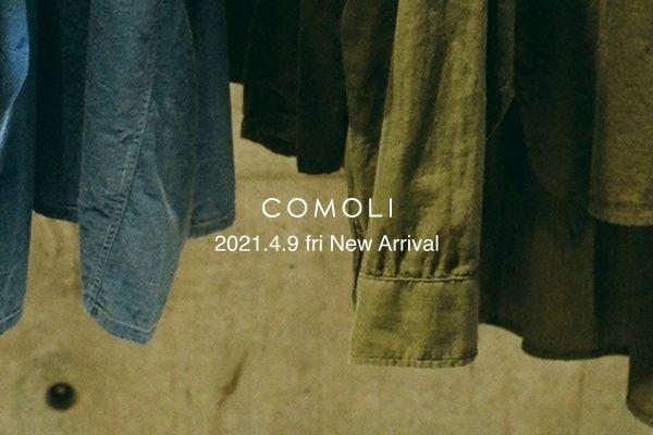 COMOLI 2021.4.9 fri New Arrivalの写真