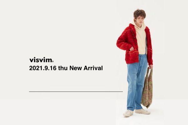 visvim 2021.9.16 thu New Arrivalの写真