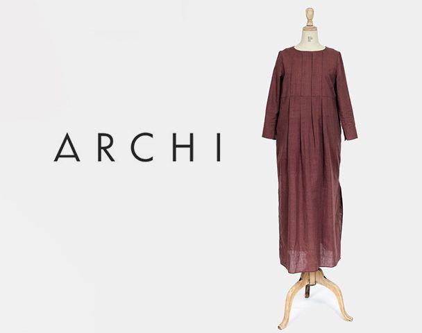 """ARCHI / 2017SS 新着アイテム""""PAVO DRESS"""