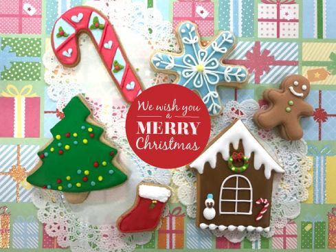 「11月『クリスマスクッキー』レッスンのお知らせ」の写真