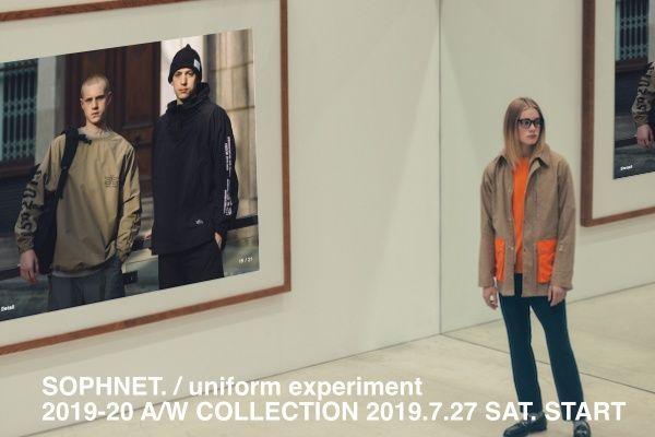 SOPHNET. & uniform experiment 2019-20 A/W COLLECTIONの写真