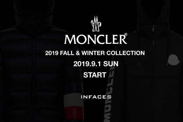 MONCLER  2019 FALL&WINTER COLLECTIONの写真