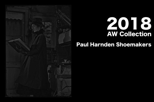 Paul Harnden Shoemakers  2018AW Collectionの写真