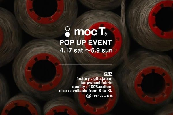 moc T POP UP EVENT 4.17 sat 〜 5.9 sunの写真