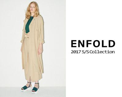 ENFOLD 2017 Spring&Summer Collectionの写真