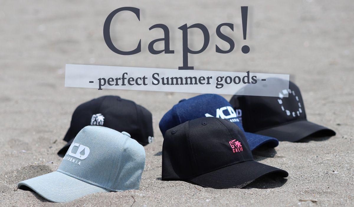 CAPS!ー夏を楽しむCAPアイテムー