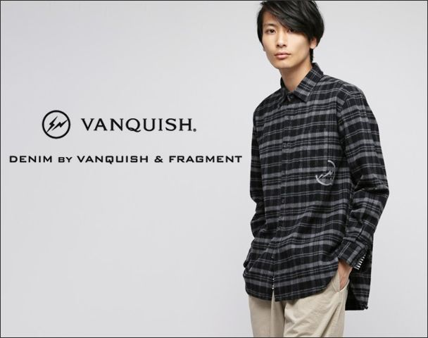 """DENIM BY VANQUISH FRAGMENT / 2017AW 新入荷""""Big flannel shirt""""and moreの写真"""