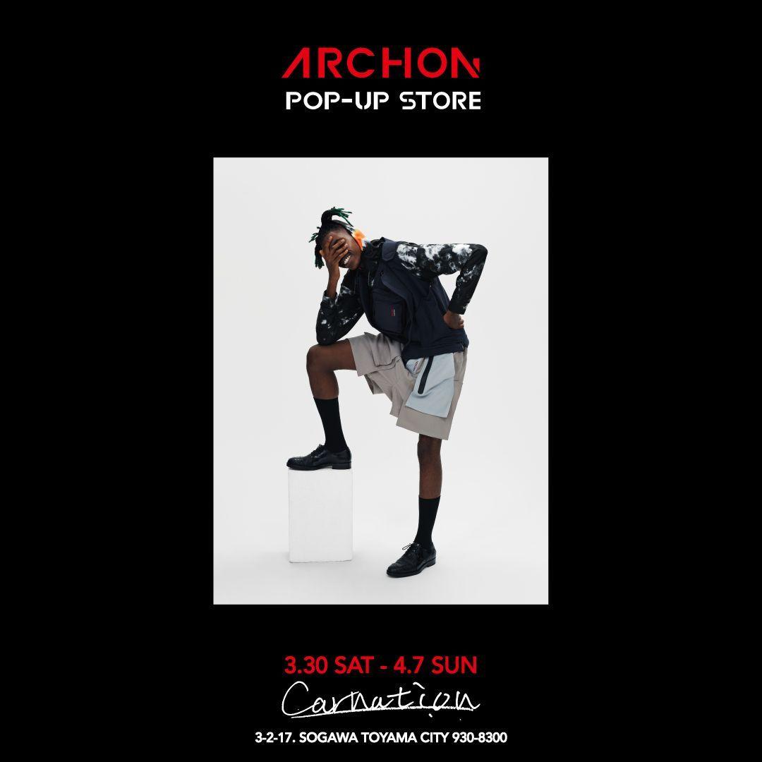 ARCHON  ©︎2019 Spring & Summer POP UP STOREの写真