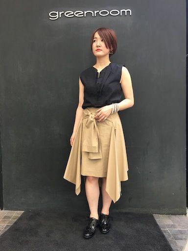 重なる襟 重なる裾の写真