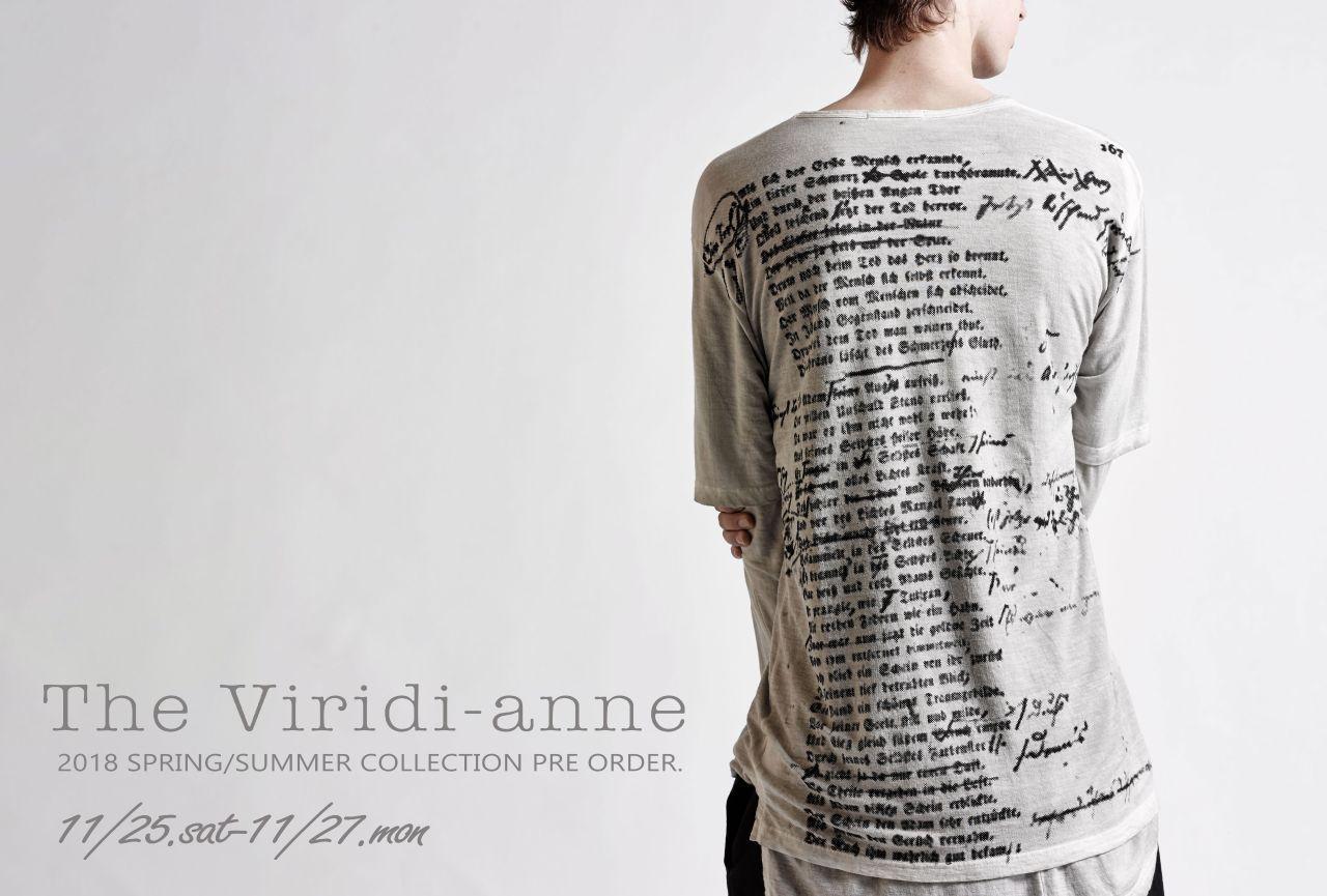 The Viridi-anne 2018SS PRE ORDER / GOD SELECTION XXX NEW ITEM RELEASEの写真