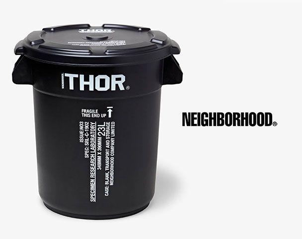 "NEIGHBOR HOOD / 新作アイテム入荷 ""SRL . THOR / P-ROUND CONTAINER""andmoreの写真"
