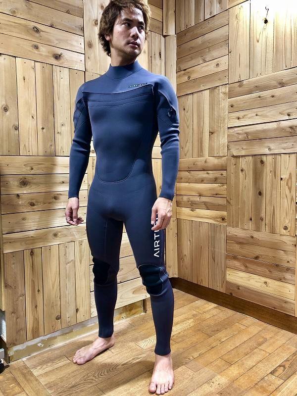 エアータイトのウェットスーツサーフィン用フルスーツハイパフォーマンスモデル