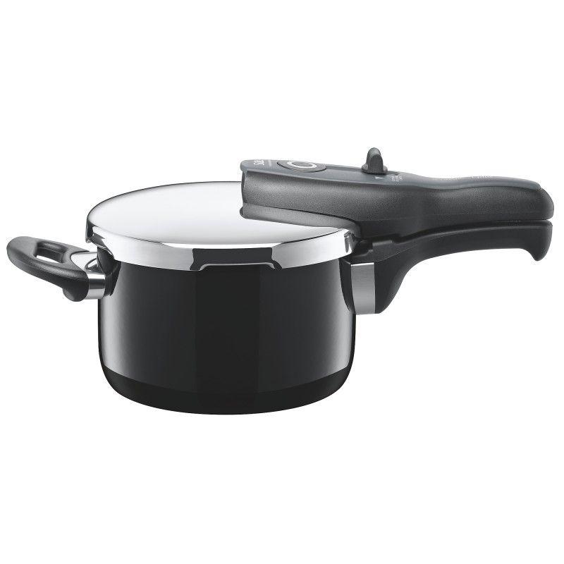 tプラス 圧力鍋 2.5L ブラック
