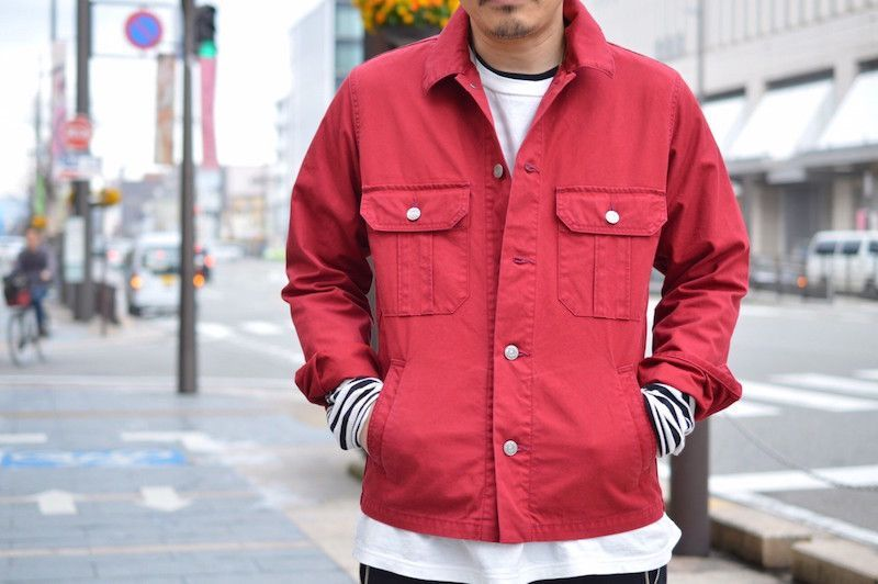 【 The Letters 】/ Military Ventile Jacketの写真