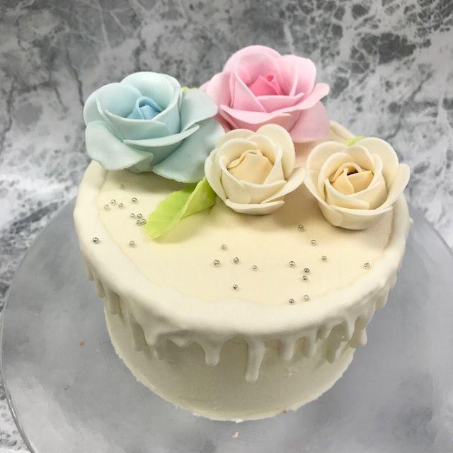 「最終ご案内 チョコレートローズケーキ」の写真