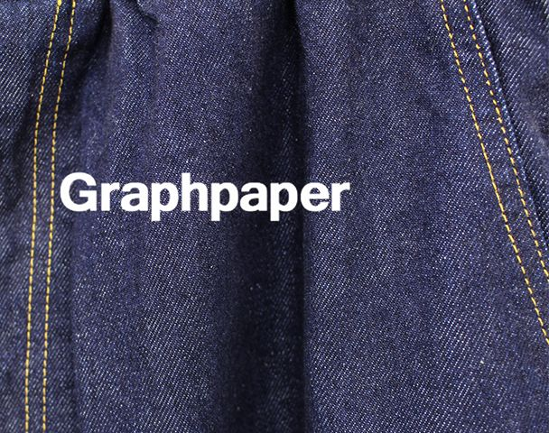 Graphpaper 2017 AW 新入荷